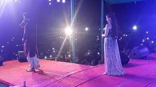 Ritesh Pandey & Akshara Singh का  Stage Show   जबरजस्त Dance Kiya