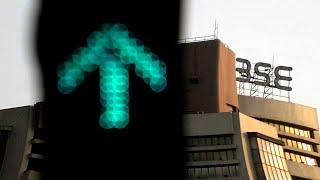 Sensex gains 80 points, Nifty flat; IndiGo shares hit new high