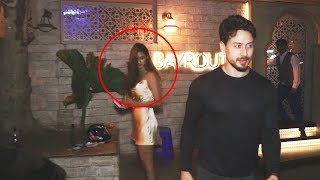 Disha Patani On DINNER DATE With Tiger Shroff, AVOIDS Media