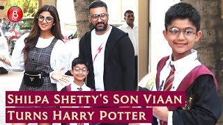 Shilpa Shettys Son Viaan Turns Harry Potter For His Birthday Bash