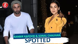 Ranbir Kapoor & Sonal Chauhan Spotted Late In The Night