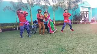 Live Shooting  - Dimpal Singh - लहे लहे सगरो लगा ला देवरू