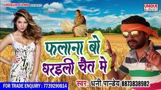 फलाना बो धरईली चैत में Falana Bo Dharaili Chait Me - Dhani Pandey || Bhojpuri Chaiya 2019
