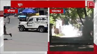 Zakir Musa की मौत के बाद नहीं थम रहा बवाल, श्रीनगर-गांदरबल में छात्रों ने की पत्थरबाजी