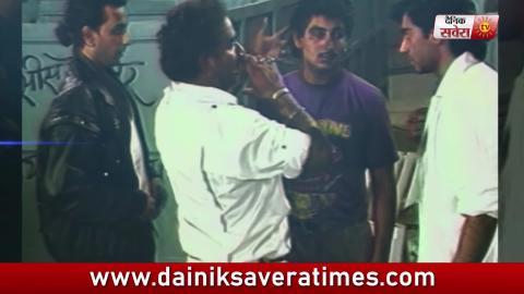 Ajay Devgn's Father Veeru Devgn directed his debut scene | Dainik Savera