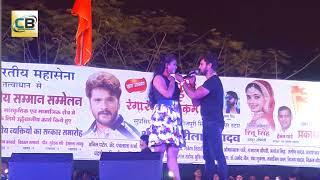 Kheshari lal & Chandni Singh stage show 2018 ||Full HD stage show kheshari lal ||  Bhojpuri show