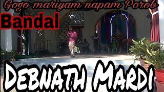 "New Santali gogo mariyam napam Porob program song ""Kai gada dak jisu"" at Bandal"