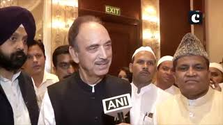 Congress party will attend PM's swearing-in ceremony: Ghulam Nabi Azad
