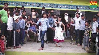 DJ Dance 2018    भारी भीड़ में दो लड़कियों ने किया जमकर डांस    Ajeet Katara Rasiya