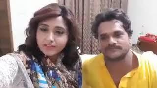 """Khesari Lal Yadav और Kajal Raghawani ने क्या कहा फिल्म """"दुल्हिन गंगा पर के"""" बारे में - Bhojpuri Live"""