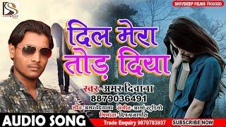 Dil Mera Tod Diya - दिल मेरा तोड़ दिया - Amar Diwana - Bhojpuri Song 2018 New