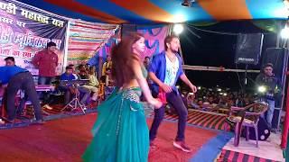 Gunjan Singh Live Recording Dance - तोरे खातिर जीना है गोरिया - Bhojpuri Stage Show 2019