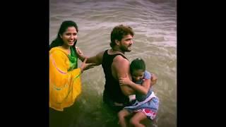 Masti In Ganga River - Khesari Lal Yadav , Kajal Raghwani , Kriti Yadav - Dulhin Ganga Par Ke