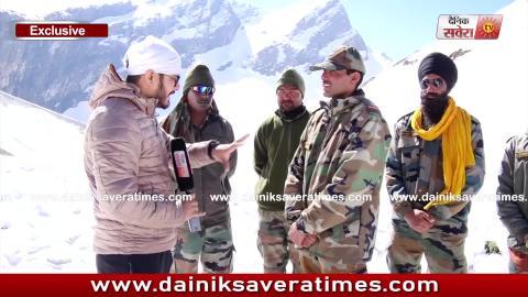 Hemkunt Yatra Special Video: Gurdaspur का यह Fauji जान हथेली पर रखकर बनाता है Hemkunt Sahib का रास्ता