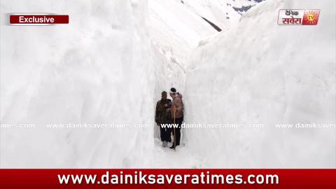 Hemkunt Yatra Special Video: देखिए इस Dangerous रास्ते से गुज़रकर कैसे Hemkunt Sahib पहुंचेगी Sangat