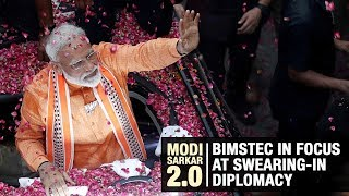 Modi Sarkar 2.0: BIMSTEC in focus at swearing-in diplomacy