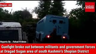 Gunfight breaks out in Shopian village