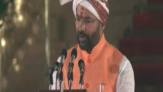 Kishan Reddy Taking Oath As Union Minister In Modi Government   Secunderabad MP  