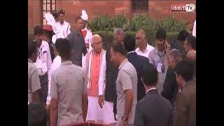 शपथग्रहण समारोह के लिए HARYANA  के CM  MANOHAR LAL  राष्ट्रपति भवन पहुंचे