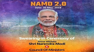 ????LIVE: Swearing-in ceremony of Narendra Modi and his Council of Ministers at Rashtrapati Bhawan
