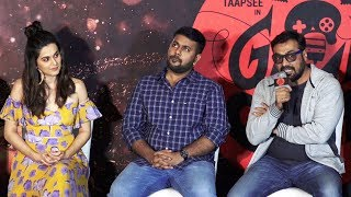 Game Over Trailer Launch | Taapsee Pannu & Anurag Kashyap