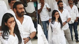 Ajay Devgans EM0TIONAL Daughter Nysa Devgan Breaks Down At Pr@yer Meet Of Grandfather Veeru Devgan