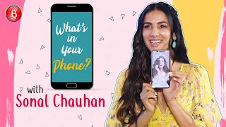 Whats In Your Phone: Sonal Chauhans SHOCKING Reaction On Knowing How Many Photos She Has