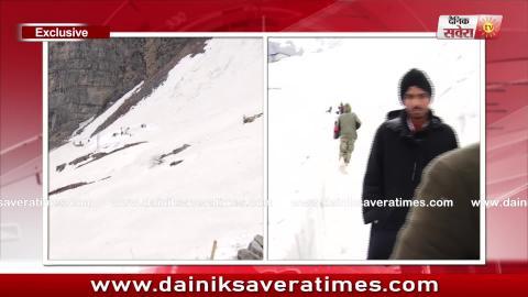 Hemkunt Yatra Special :Glacier के इन Dangerous रास्तों में यात्रियों के लिए तैनात रहती है Army