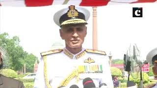 Admiral Karambir Singh takes over as Chief of Naval staff