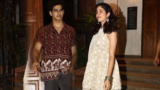 Janhvi Kapoor And Ishaan Khatter Spotted Together For Late Night Dinner Date