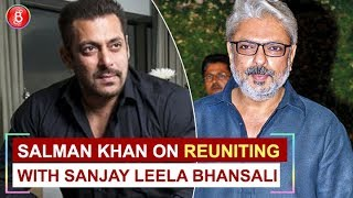 Salman Khan has THIS to say on reuniting with Sanjay Leela Bhansali in 'Inshallah'