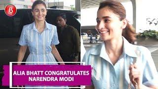 Alia Bhatt Congratulates Narendra Modi While Ranbir Kapoor Keeps Mum