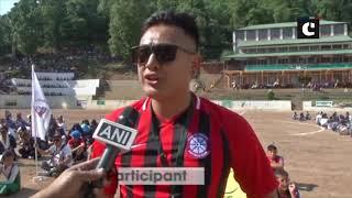 25th GCM football tournament begins in HP's Dharamshala