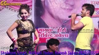 Bhojpuri Live Stage Show New 2018 By Kallu ji | Hot Girls Dance | Mona,Jyoti, Rani | Orchestra Video