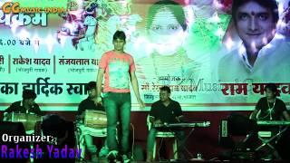 Bhojpuri Stage Show 2019 - Sher Singh Yadav - Pachara Geet - Chhath Puja Program - Vindhyachal Song