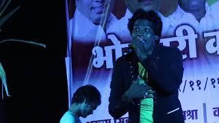Rakesh Yadav Stage Show || Bhojpuri Live Bhajan Program | 2019 New Bhakti Geet  - HD Video