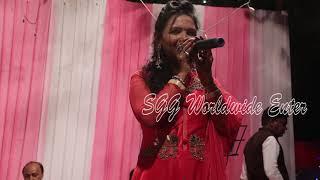 भोजपुरी के खूबसूरत गायक कलाकार Alka Jha और Jitendra Jha का जबरदस्त प्रोग्राम | New Live Bhajan 2019