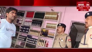 कुशीनगर //- पुलिस ने देसी शराब और अंग्रेजी शराब के ठेको पर मारे छापे