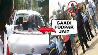 Goa Miles V/s Taxi Owners: Video Shows Churchill Alemao Instigating Crowd To Break Goa Miles Taxi