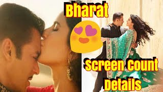 Bharat Movie Screen Count Details Revealed