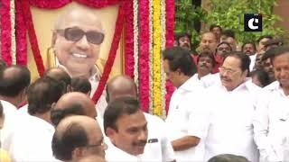MK Stalin pays tribute to Karunanidhi on his birth anniversary