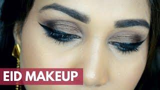 Eid Makeup Tutorial 2019 for Beginners | Simple & Affordable | Nidhi Katiyar