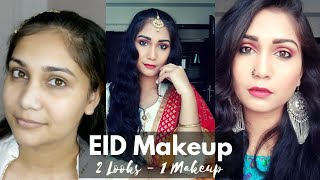 Easy Eid Makeup Looks for Teenagers/Beginners using affordable products