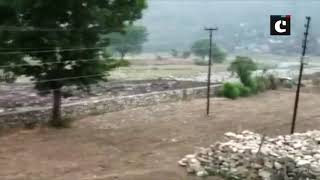 Muddy water flows in seasonal river of Uttarakhand post heavy rainfall2