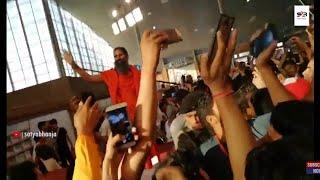 Smart Phones Storm trapped Swami Ramdev | Social Media Shivir 2019