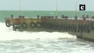 Rough sea conditions in Gulf of Mannar ahead of Monsoon arrival