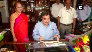 Nitin Gadkari takes charge as Road Transport & Highways Minister