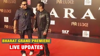 Jackie Shroff And Salman Khan At Salman Khan BHARAT Movie Screening | Grand Premiere