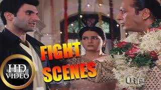 "Hindi Movie  Fight Scene    Riski Fight Scene In Indian Cinema ""Indian Babu"""