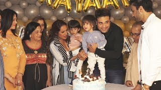 Krushna Abhishek Twins Son Krishaang Rayaan Birthday Celebration